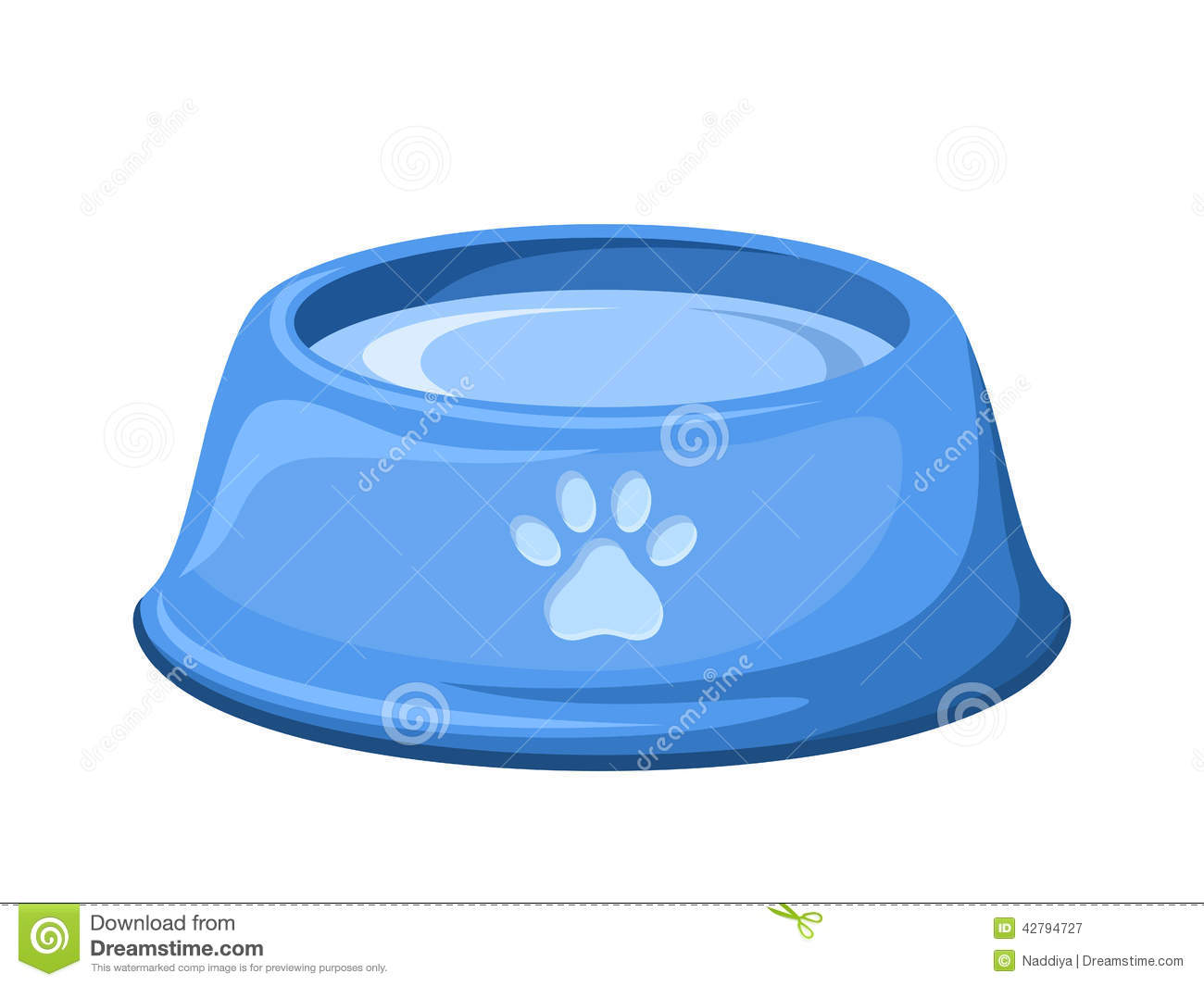 Give dog water clipart.