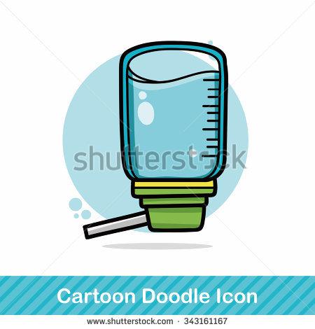 Dog Drinking Water Stock Vectors, Images & Vector Art.