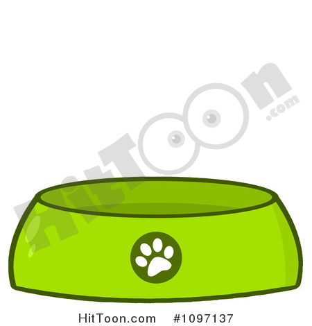Dog Food And Water Clipart.