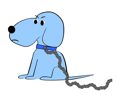 Chain clipart dog, Chain dog Transparent FREE for download.