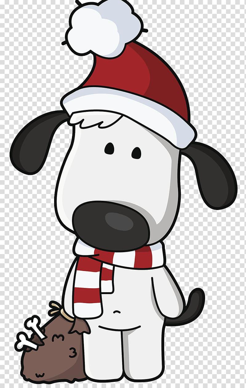Dog Santa Claus Christmas , Christmas Dog transparent.
