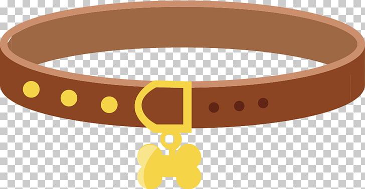 Dog collar Dog collar Pet, Dog collar material, brown pet.