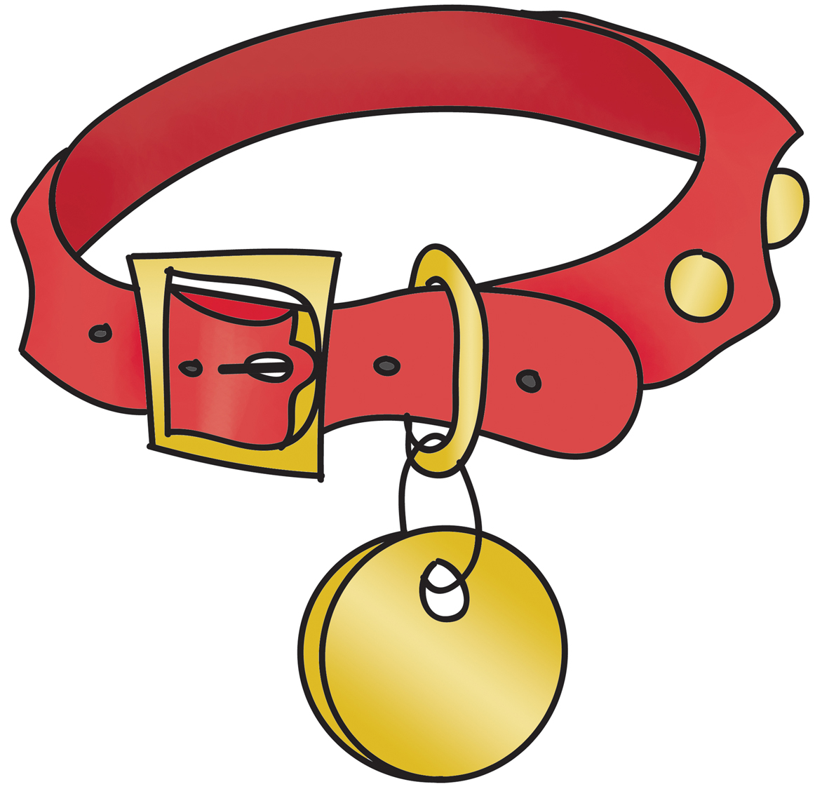 Dog Collar Clipart.