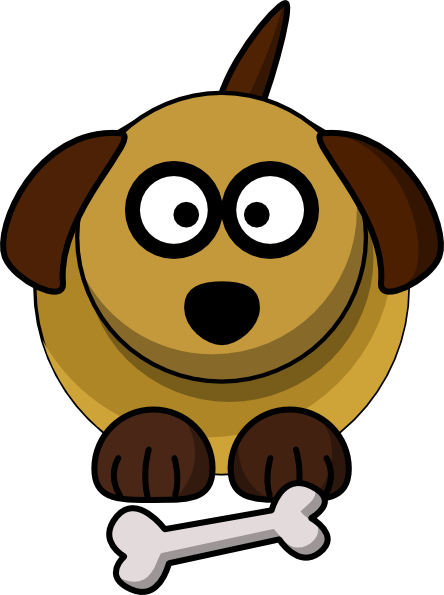 Cute Dog Clip Art.