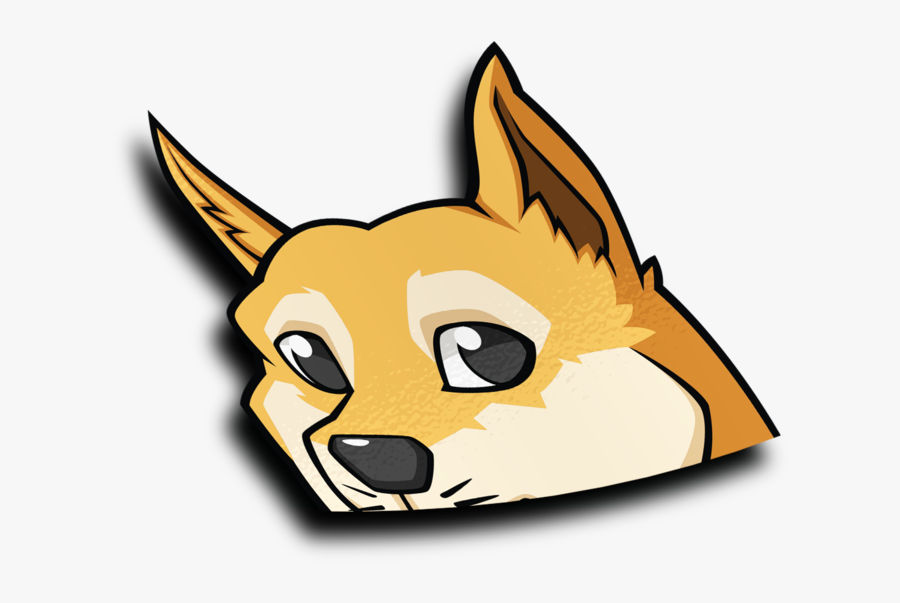 Transparent Doge Head Png.