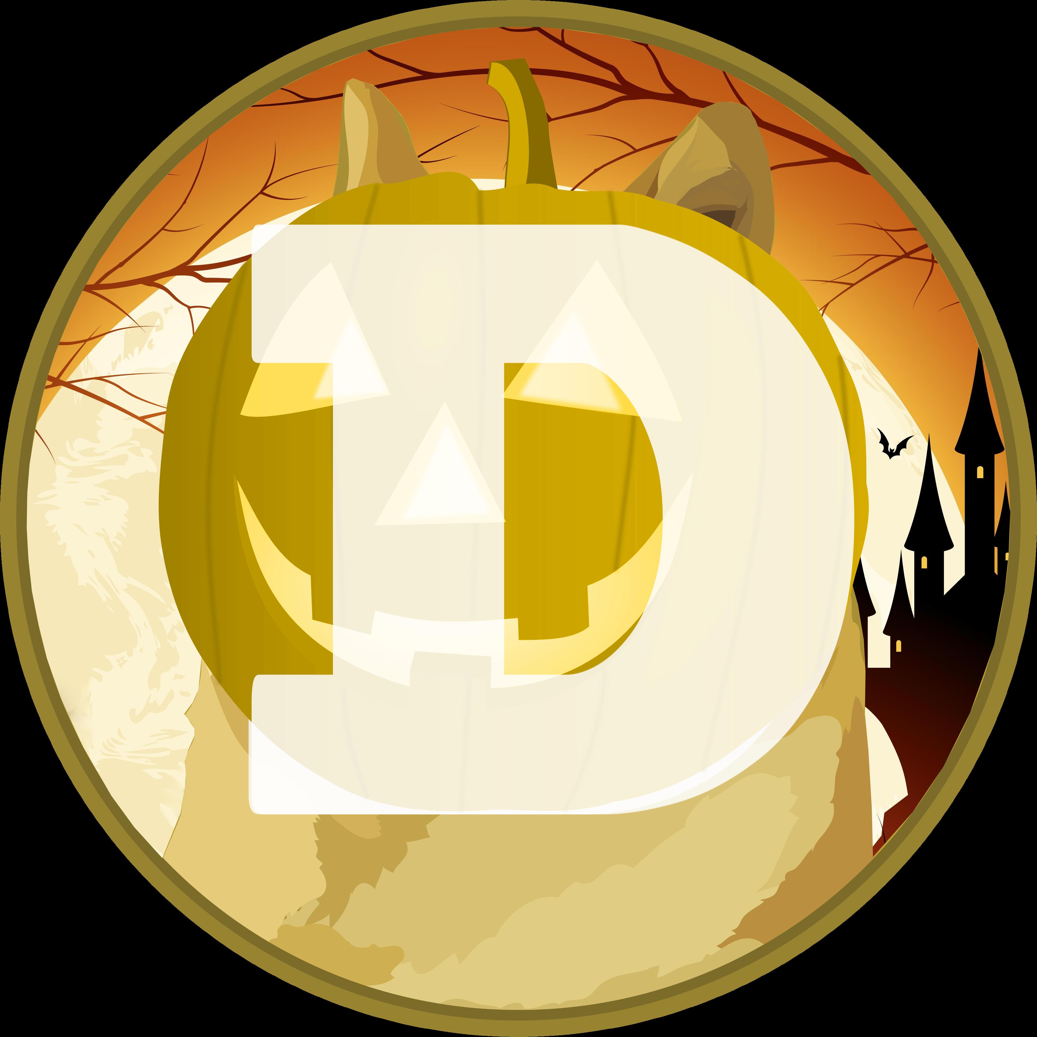 Dogecoin Logo Spooky Month Edition [OC] : dogecoin.