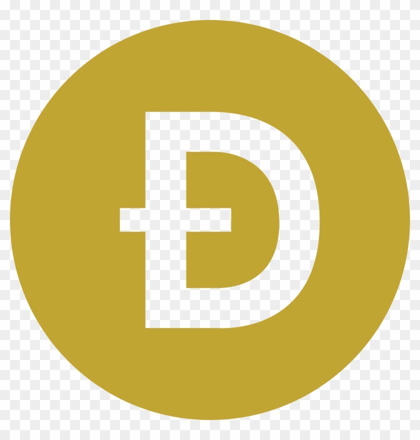 Dogecoin Logo Cercle.