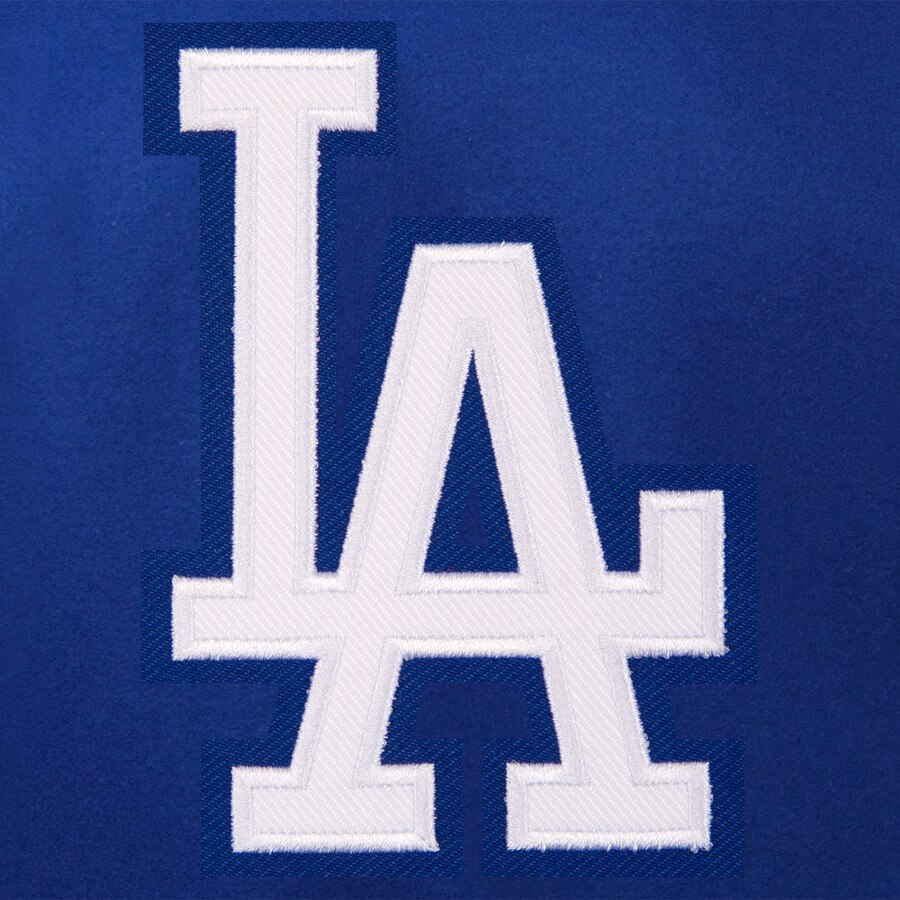 Los Angeles Dodgers JH Design Women\'s Embroidered Logo All.