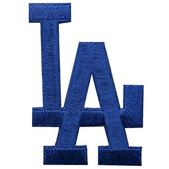 MLB LA Dodgers Embroidered Team Logo Collectible Patch.