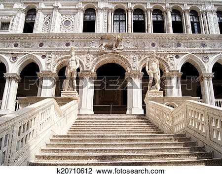 Stock Photo of Doge's Palace, Venice k20710612.