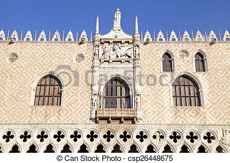 Picture of The Doge's Palace (Italian Palazzo Ducale), Venice.