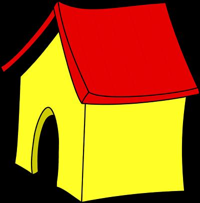 Cute Dog House Clipart.
