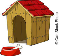 Dog house Clipart and Stock Illustrations. 5,406 Dog house vector.