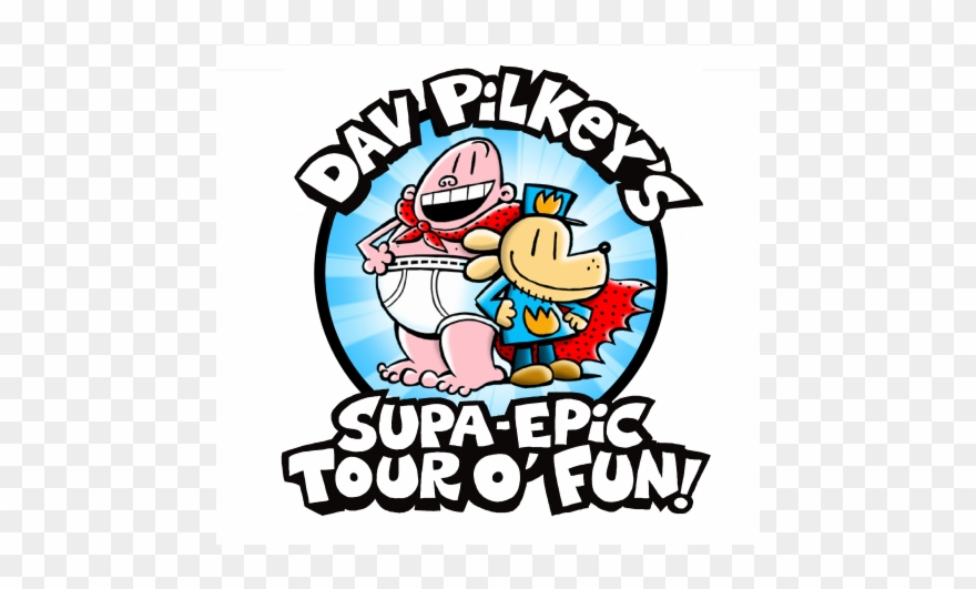 Captain Underpants And Dog Man Creator Dav Pilkey Is Clipart.
