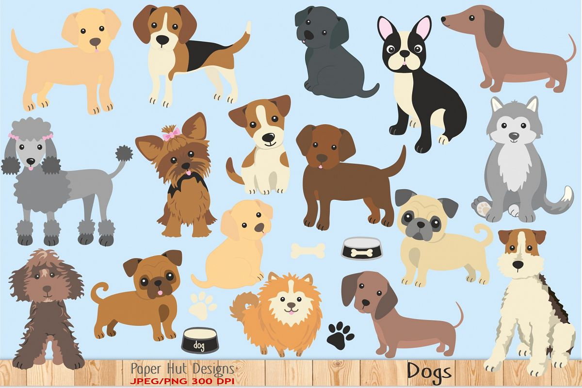 Dog Clipart.
