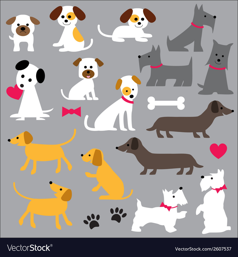 Dogs clipart.