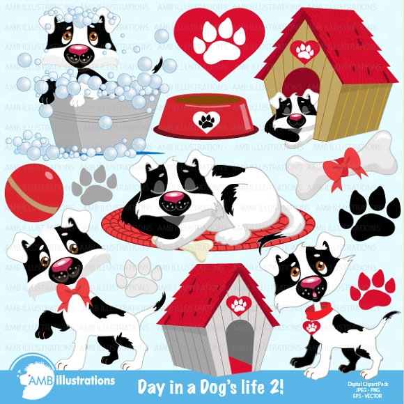 A Dogs Life 2, Clipart AMB.