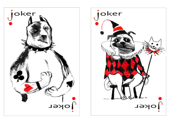 Pack of Dogs Playing Cards.