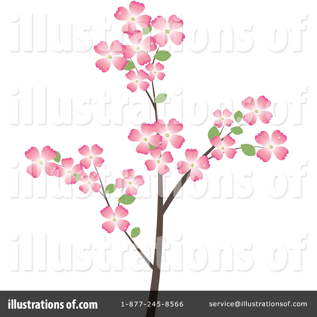 Dogwood Flowers Clipart #30431.