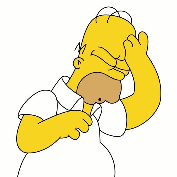 Bart simpson doh clipart.