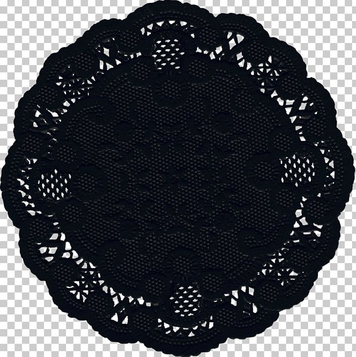 Doily Paper Lace Pattern PNG, Clipart, Black, Black And White, Black.