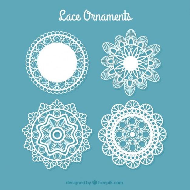 Doily Vectors, Photos and PSD files.
