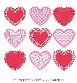 Doily heart clipart 2 » Clipart Portal.