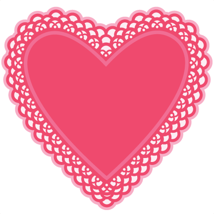 Heart Doily SVG cutting files for scrapbooking free svg cuts cute.