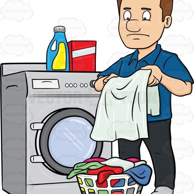Man Washing Clothes Clipart & Free Clip Art Images #27947.