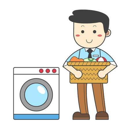 183 Doing Laundry Stock Vector Illustration And Royalty Free Doing.