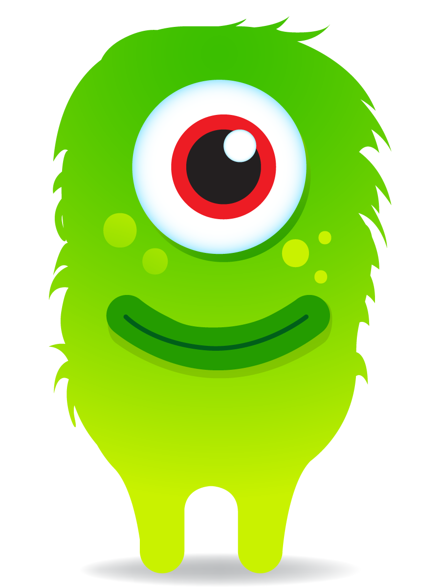 monster mouths clipart.
