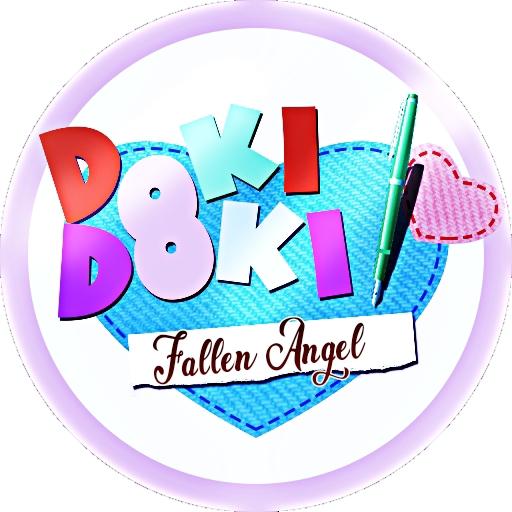 Logo for Doki Doki: Fallen Angel. : DDLCMods.