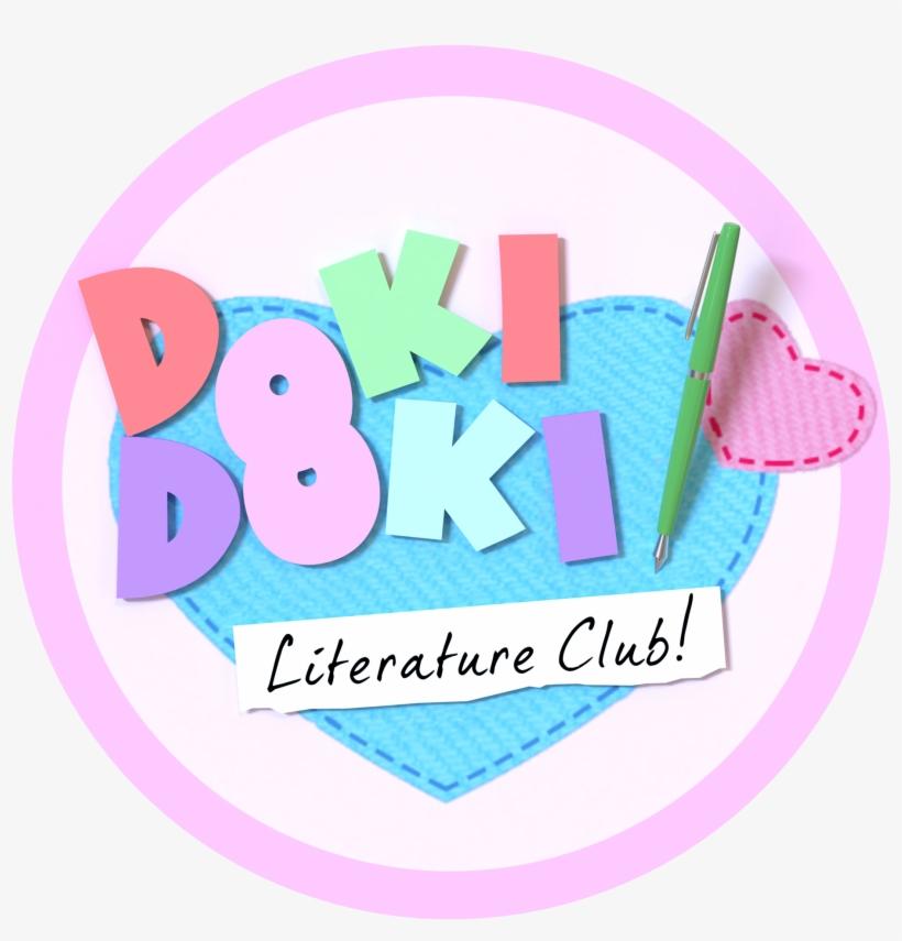 Doki Doki Literature Club Logo Transparent & Free Doki Doki.