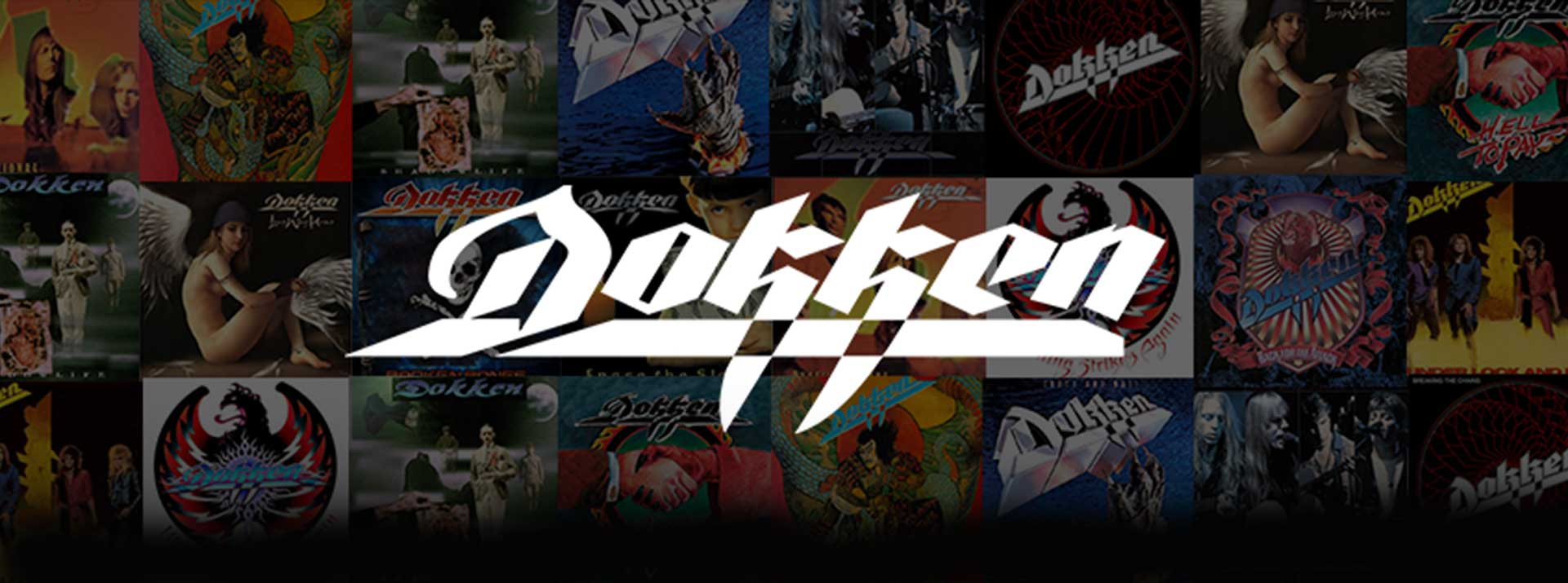 Official website for the rock band DOKKEN..