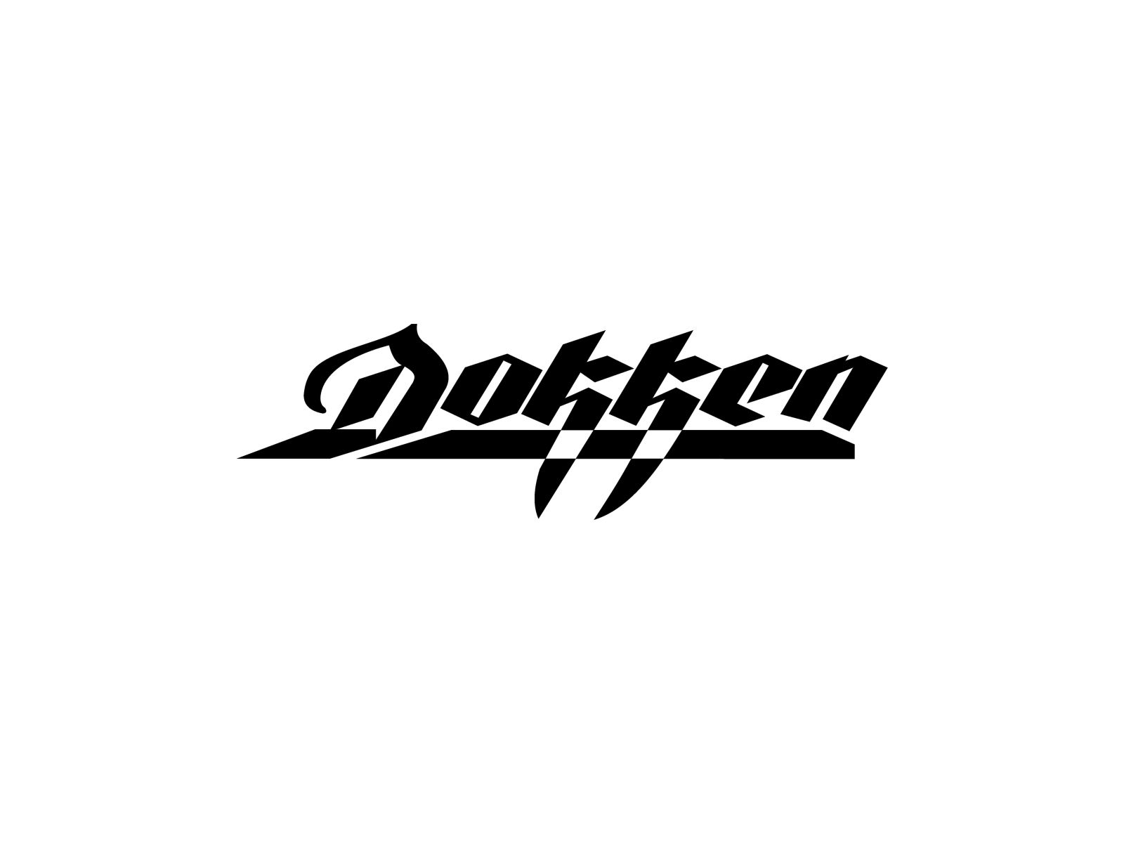 Dokken band logo.