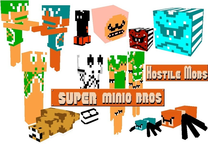 Super Mario Bros Resource Pack 1.11.