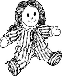 Stuffed Doll Clip Art at Clker.com.