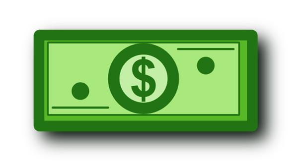 Cartoon Dollar Sign.