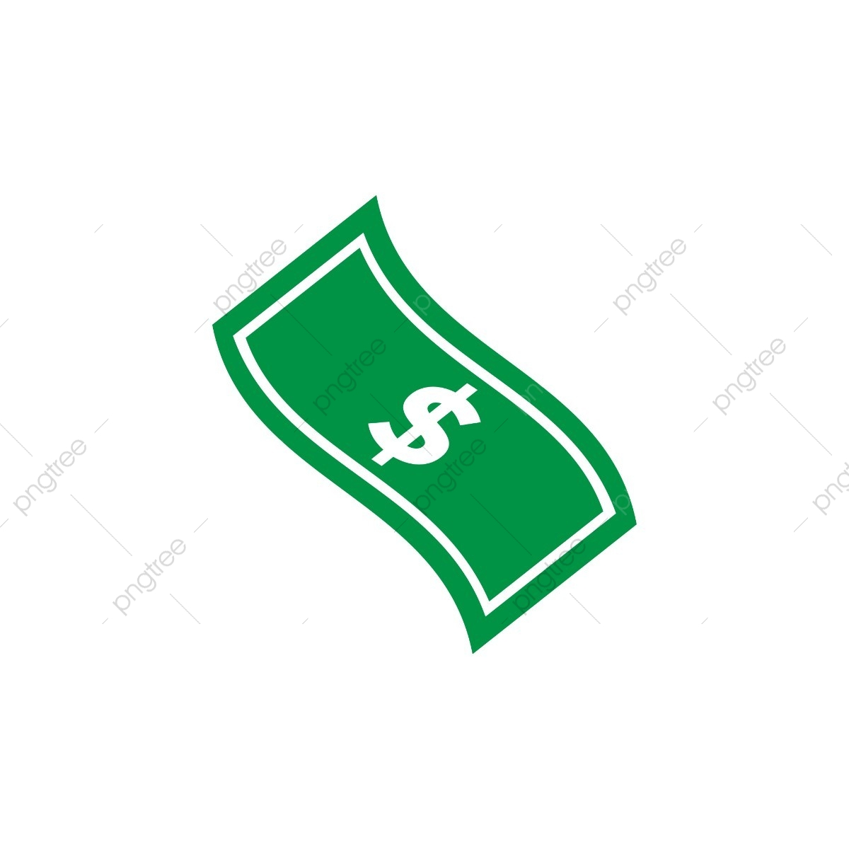 One Piece Of Dollar, Piece, Money, Cash PNG and Vector with.