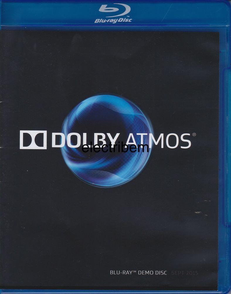 DOLBY ATMOS DEMO DISC 2015 in 2019.