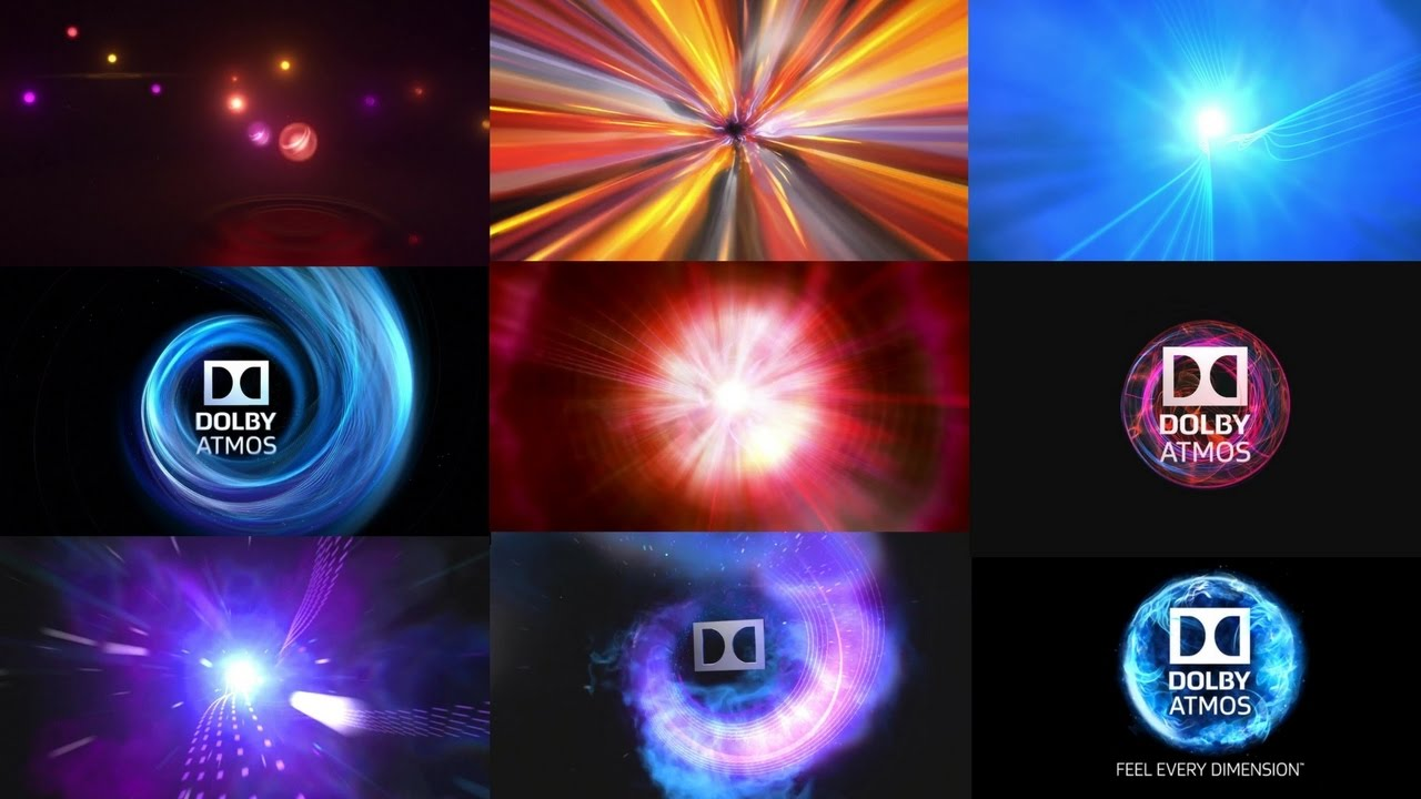 Dolby Atmos logo compilation (2012).