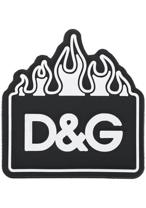 Dolce & Gabbana logo keyring.