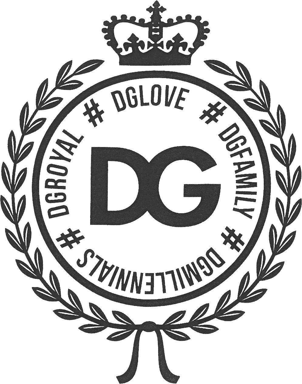 Dolce & Gabbana logo PNG.