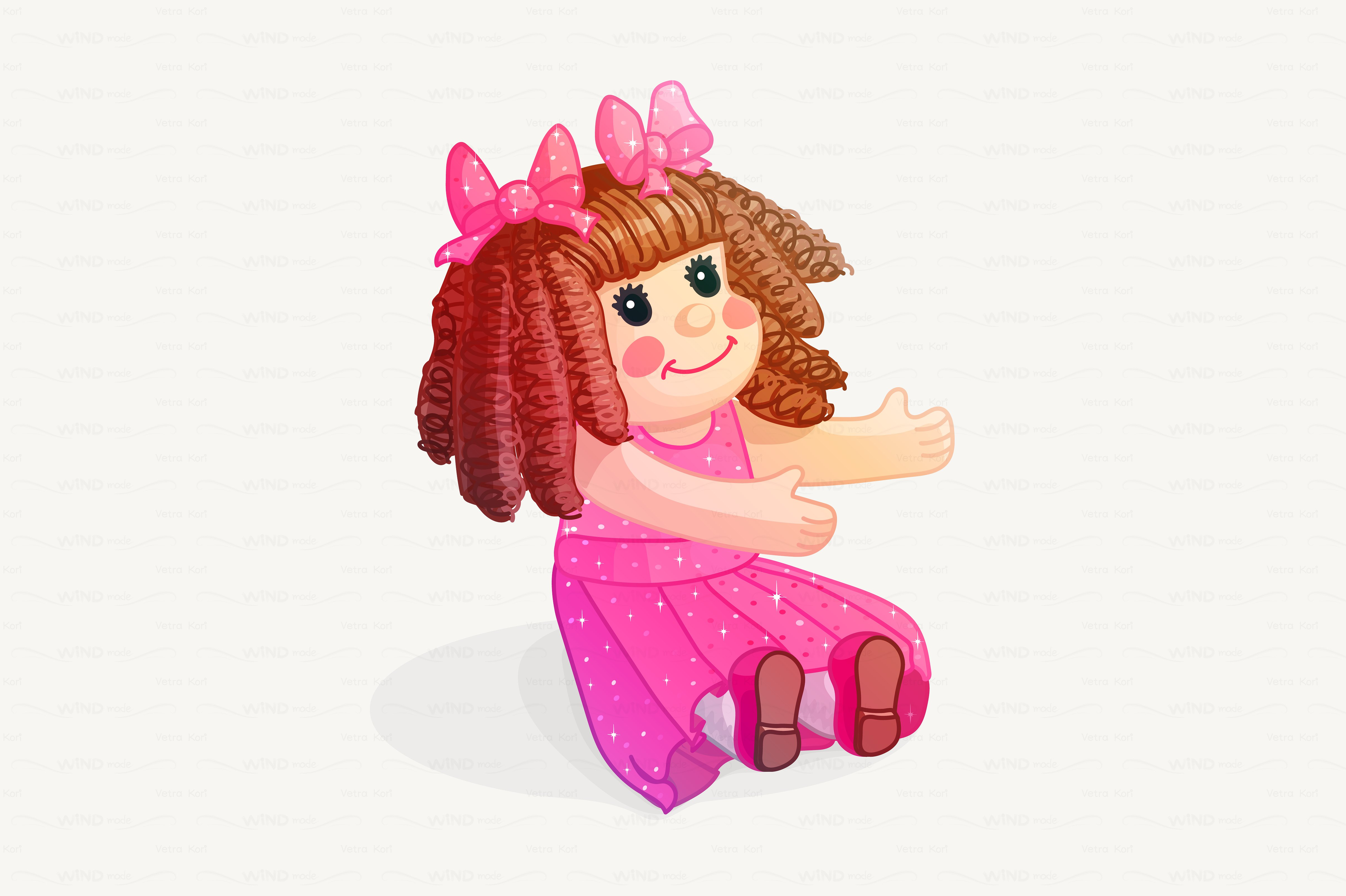 Clipart Of Doll.