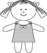 Tokeo la picha la a doll clipart.