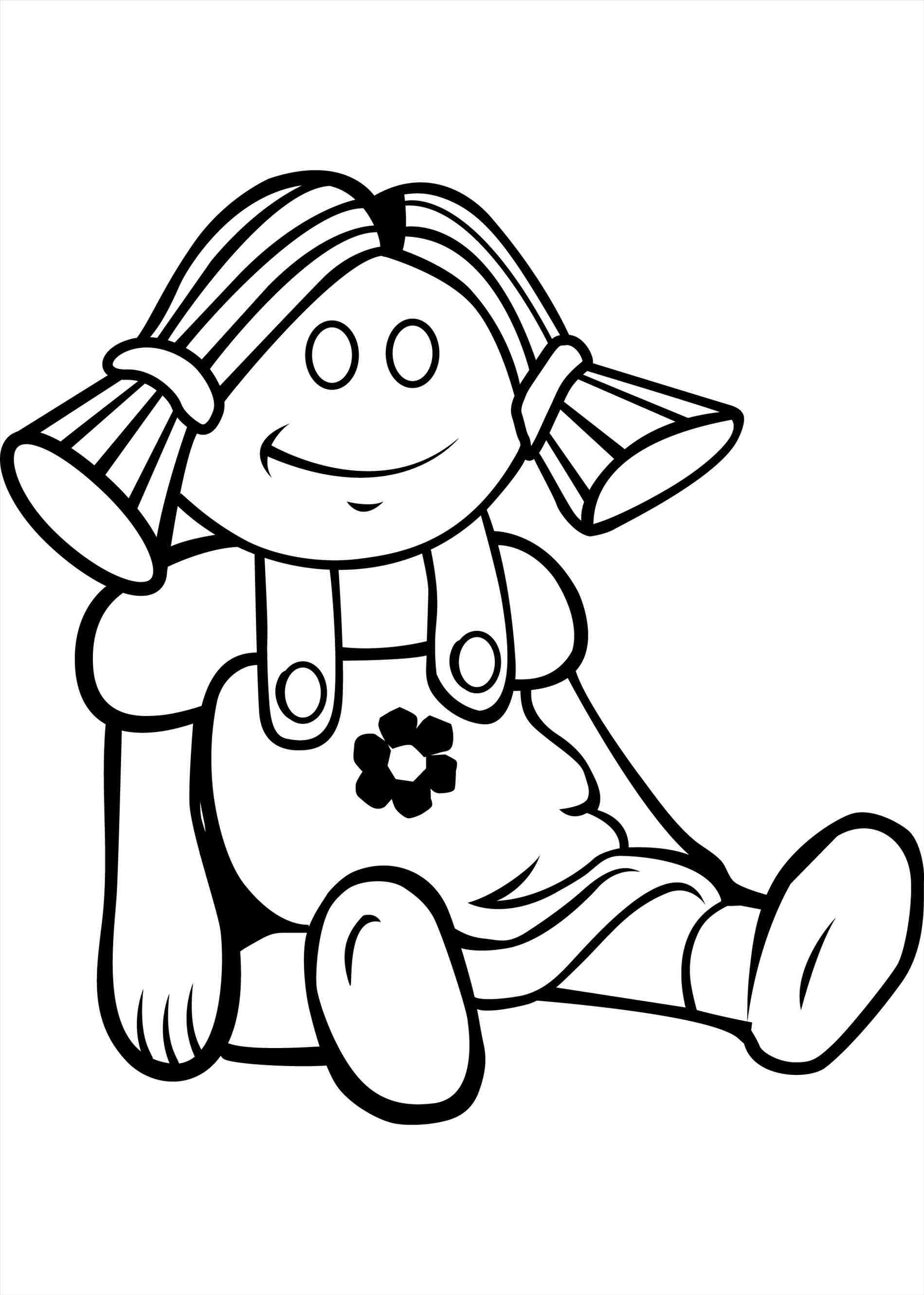 Doll Baby Doll Clipart Black And White » Clipart Station.