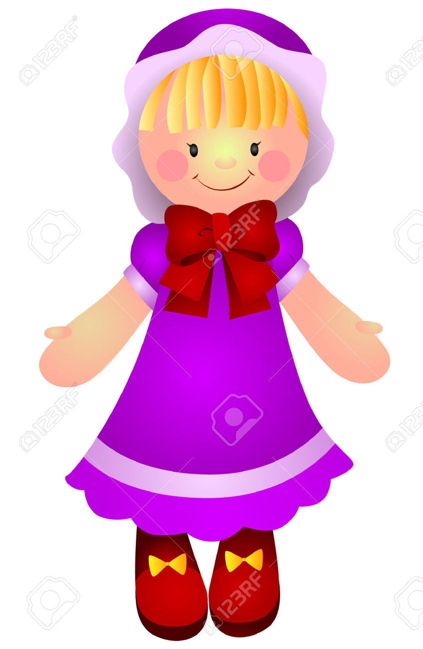 Doll Clipart.