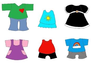 Kid Clothes Clipart.