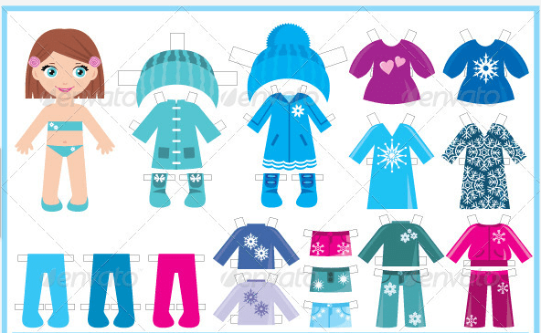 Doll clothes clipart 9 » Clipart Portal.