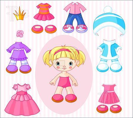 Doll clothes clipart » Clipart Portal.